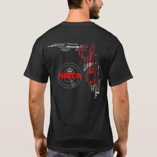Équipements de NATCA la Floride avec le drapeau T-shirt