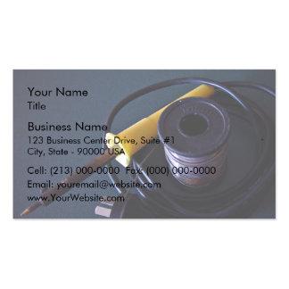 Équipements de soudure cartes de visite personnelles