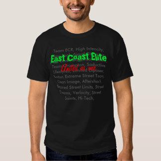 Équipes d'élite de Côte Est T-shirts