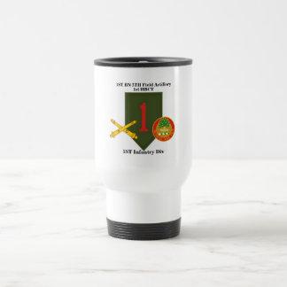 ęr 5ème tasse de voyage de l'artillerie de
