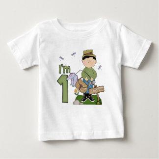 Ęr anniversaire de Lil Fishingman T-shirt Pour Bébé