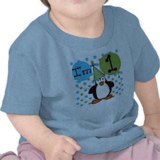 Ęr anniversaire de pingouin t-shirt