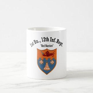 """ęr Bataillon, 12ème tasse """"de guerriers rouges"""" de"""
