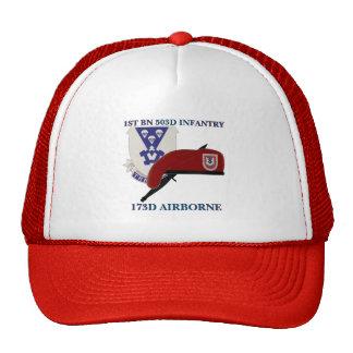 ęr CHAPEAU AÉROPORTÉ de l'INFANTERIE 173D du Casquette Trucker