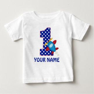 ęr Chemise personnalisée par avion de garçon T-shirt Pour Bébé
