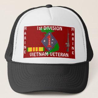 ęr Division marine Vietnam 1/r Casquette