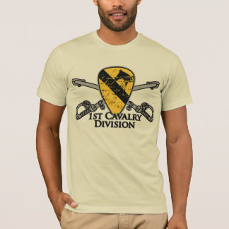 ęr Division premier Cav de cavalerie T-shirt