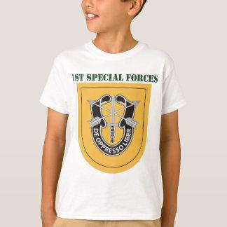 ęr Groupe de forces spéciales avec le texte T-shirts