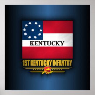ęr Infanterie du Kentucky Affiches