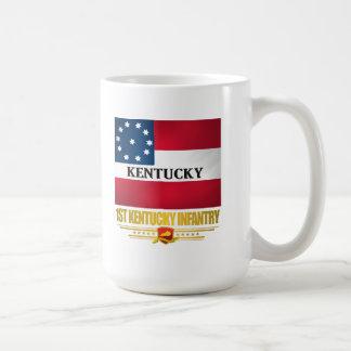 ęr Infanterie du Kentucky Mug Blanc