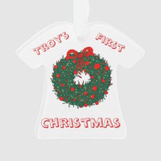 Ęr Noël du bébé personnalisable