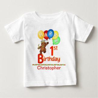 ęr Nom majestueux de coutume d'ours de nounours T-shirt Pour Bébé