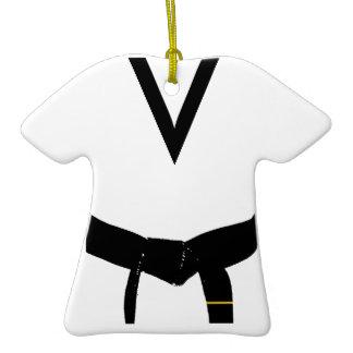 ęr Ornement d'uniforme de ceinture noire de degré ornements