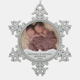 Ęr ornement JUMEL de PHOTO de Noël de Babys