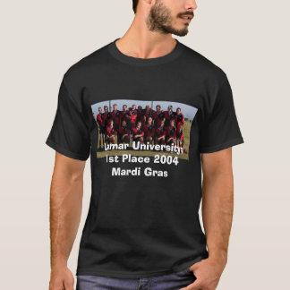 ęr Placez 2004 le mardi gras, université de Lamar T-shirt