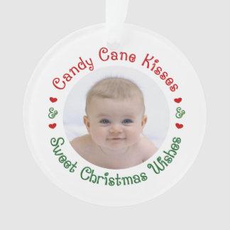 Ęr premier cadeau de photo de Noël du bébé