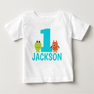 Ęr T-shirt d'anniversaire de monstre