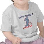 ęr T-shirt personnalisé par base-ball d'anniversai