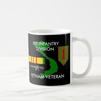 ęr Tasse de café de division Vietnam d'infanterie