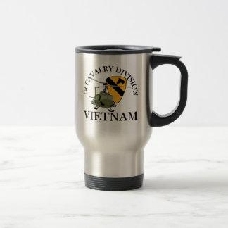 ęr Vétérinaire de Cav Vietnam Mug De Voyage
