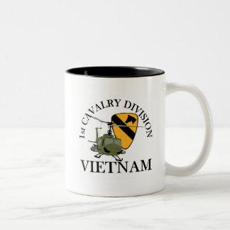 ęr Vétérinaire de Cav Vietnam Tasse 2 Couleurs