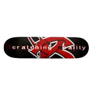 Éraflure de la planche à roulettes de réalité skateboard old school  21,6 cm