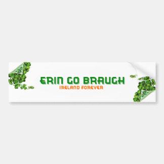 Erin vont Braugh Irlande pour toujours Autocollant De Voiture