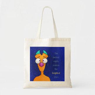 Ernest le monstre, fourre-tout sacs de toile