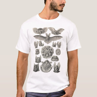 Ernst Haeckel - chauves-souris de Chiroptera T-shirt