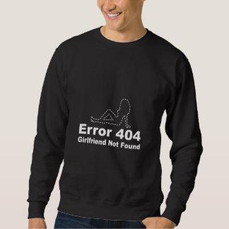 Erreur 404 - Amie non trouvée Sweatshirt