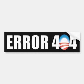 Erreur 404 : Anti Obamacare Autocollant Pour Voiture