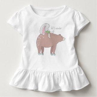 Errons pièce en t hérissée d'enfant en bas âge t-shirt pour les tous petits