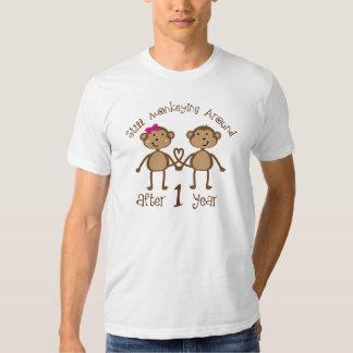 Ęrs cadeaux drôles d'anniversaire de mariage t-shirt