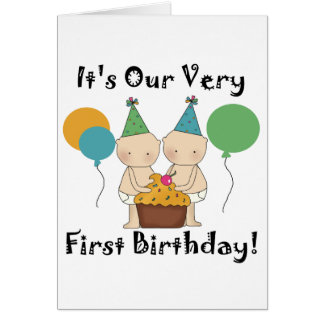 Ęrs T-shirts et cadeaux d'anniversaire de bébés ju Cartes De Vœux