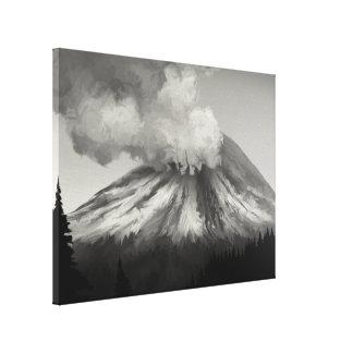 Éruption de Mt St Helens - copie enveloppée de toi Impressions Sur Toile