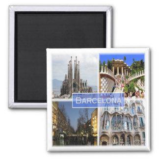 Es * L'Espagne - Barcelone Aimant