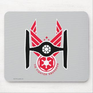 Escadron de chasse de cravate de Star Wars Tapis De Souris