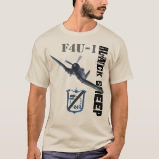 Escadron de moutons noirs t-shirt