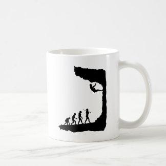 Escalade de roche mug