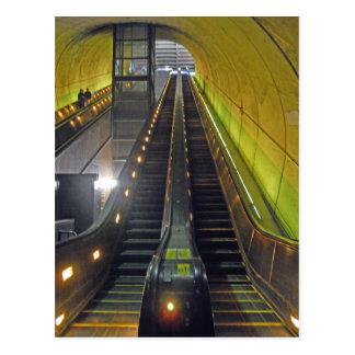 Escalators Arlington VA de station de métro de Cartes Postales