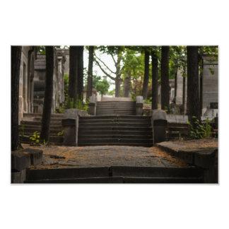 Escalier de Père Lachaise Photo D'art