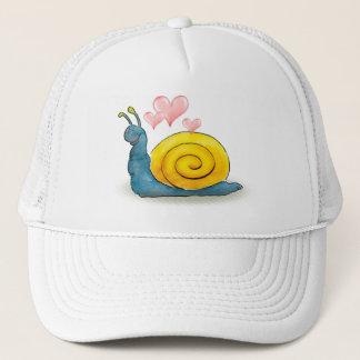 Escargot aimé avec le grand coeur - casquette