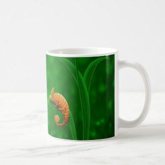 Escargot et caméléon mug