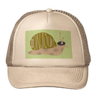 Escargot français, casquette de baseball de