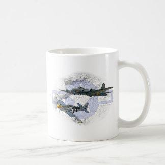 Escorte de vol du mustang P-51 Mug