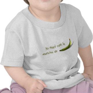 Escroc la mancha de platano de naci de Yo T-shirts