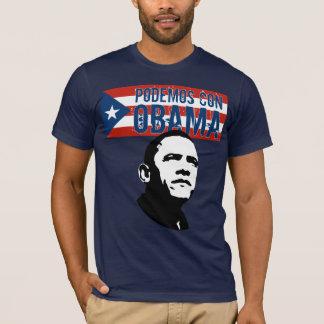 Escroc OBAMA Fl.Ob de Podemos T-shirt