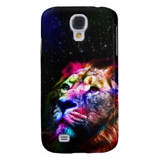 Espacez le lion de _caseSpace de lion - lion Coque Galaxy S4