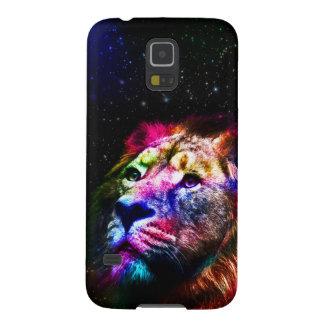 Espacez le lion de _caseSpace de lion - lion Coque Galaxy S5