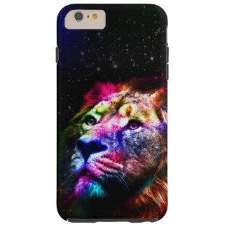 Espacez le lion de _caseSpace de lion - lion Coque iPhone 6 Plus Tough